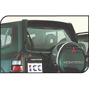 Aileron sans feu MITSUBISHI Montero 1999-> - ICC TUNING specialiste becquet automobile