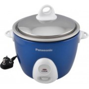 Panasonic SR G06DBLU Electric Rice Cooker(0.3 L, Blue)