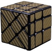 Cubo Magico Rompecabezas Magic Cube MF8830-Dorado