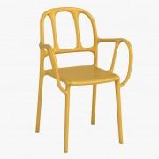 Magis Milà Outdoor Stuhl gelb