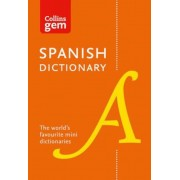 Collins Spanish Dictionary Gem Edition, Paperback