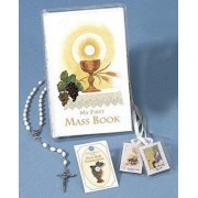 First Mass Book Vinyl Set: An Easy Way of Participating at Mass for Boys and Girls, Hardcover/Catholic Book Publishing & Icel