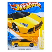 Toy / Game 2011 Hot Wheels New Models 23/240 Yellow / Gold / Orange Lamborghini Reventon Roadster 23/44