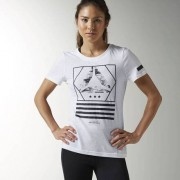 Женщины- Футболка Workout Ready Cotton Series Graphic
