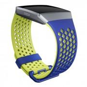Fitbit Náhradní Řemínek Fitbit Ionic Cobalt/lime L