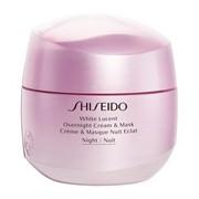 White lucent creme-máscara de noite 75ml - Shiseido