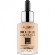 Catrice Complexion Make-up HD Liquid Coverage Foundation Nr. 010 Light Beige 30 ml