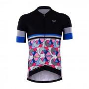 Cycling Box Colour Geometry Jersey - XX-Large