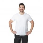 Nisbets Unisex T-shirt wit M - M