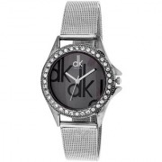 i DIVA'S DK Choice Beauty Black Daill Analog Watch For Girls By Prushti