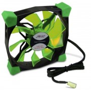 Ventilator Inter-Tech CobaNitrox Extended N-120-GR, 120mm (LED Verde)