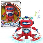 Kids Electronic Robot, Buedvo Dancing Walking Smart Space Astronaut Music Light Toy