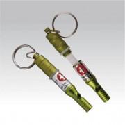 Munkees Emergency capsule en fluit - sleutelhanger