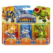 Set 3 Figurine Skylanders Giants Chill, Zook, Ignitor