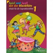 Schott Music - Spiel und Spaß 1 Schule NEU Sopranblockflöte