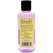 Khadi Lavender Ylang Ylang Massage Oil 210ml