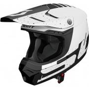 Scott 350 EVO Team ECE Motocross hjälm Svart Vit 2XL
