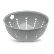 KOZIOL Prostorný cedník, lehká nádoba, 5 l, PALSBY, velikost L, barva šedá, KOZIOL
