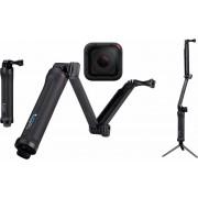 GOPRO actioncam GOPRO HERO5 Session 3-Way Set 4K (Ultra HD), GPS, WLAN, Bluetooth