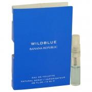 Banana Republic Wild Blue Vial (Sample) 0.06 oz / 1.77 mL Men's Fragrances 539752