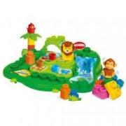Set cuburi constructii moi parfumate pentru copii Clemmy - Padurea fermecata 25 piese