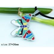 Медальон Пеперуда изработен от медицинска стомана 316L (DXP11767)