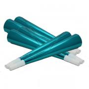 Fényes trombita 20 cm, kék 6 db/cs