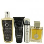 Armaf Club De Nuit EDT Spray 3.6oz 106.46mL Body Spray 1.7oz 50.27mL Shower Gel 3.4oz 100.55mL Shampoo Conditioner 8.4oz 538223
