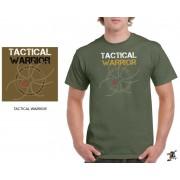 """Sniper Men """"Tactical Warrior"""" T-shirt (Olive)"""