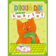 Kinderboeken Dikkie Dik spel in blik: Juniorkwartet. 3+