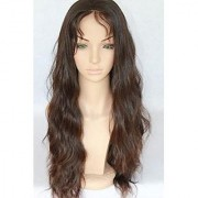 Sellers Destination Long Human Hair wig for women(size 30 Black)