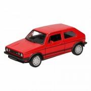 Volkswagen Speelgoed rode Volkswagen Golf I GTI speelauto 12 cm