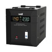 Stabilizator de tensiune cu triac Well Agile 5000VA 3500W