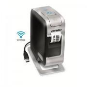 Dymo LabelManager Wireless PnP Trasferimento termico 300 x 300DPI Nero, Argento