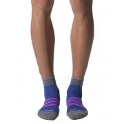 ADIDAS Run Thin Cushioned Id Ankle Socks Purple