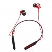 M8 Wireless Bluetooth V4.1 Neckband CVC Noise Reduction Sport Earphone with Magnet Attraction - Red