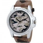 RIDIQA Analog Army Designed color strap casual wear watches for men and boys RD-129