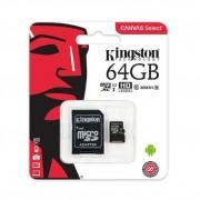 Kingston SDCS/64GB Tarjeta microSD de 64 GB