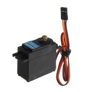 CYS-S0060 6KG DC6.0-7.4V Analog Micro Servo Metal Gear JR/Futaba Plug For RC Airplane 40.8x20.1x38mm