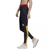 Adidas Performance Leggings de desporto Athletics pack colorblockMarinho- XS