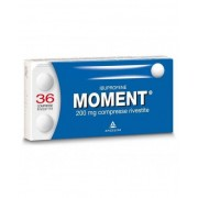 Angelini Spa Moment 200mg Angelini Ibuprofene 36 Compresse Rivestite