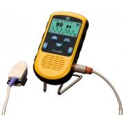 CREATIVE PC-66B Oxigénszaturáció pulzusszám- és intenzitásmérés szívritmus görbe adattárolás USB LCD.