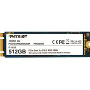 SSD Patriot Scorch R1700/W950, 512GB, M.2 NVMe, PS512GPM280SSDR