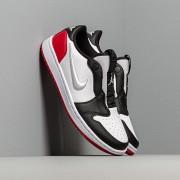 Air Jordan Wmns 1 Retro Low Slip White/ White-Gym Red-Black