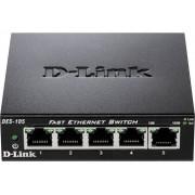D-Link DES-105 Nätverks-switch 5 Port 100 Mbit/s