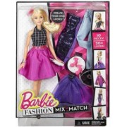 Barbie Fashion Mix'n Match Doll Blonda DJW57