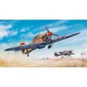 Trumpeter Model myśliwca z okresu WWII Hurricane Mk.II w skali 1:24, Trumpeter