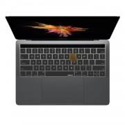 ZKY Keyboard Cover - силиконов протектор за клавиатурата на MacBook Pro with Touch Bar (прозрачен-мат) (bulk)
