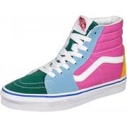 Vans Sk8 Hi Schuhe blau pink grün
