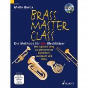 Schott Music Brass Master Class, Methode Malte Burba (mit DVD)